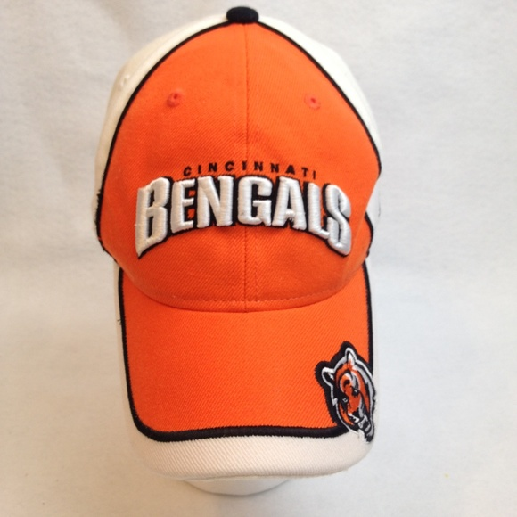 9b279828 Reebok NFL Cincinnati Bengals Adjustable Cap